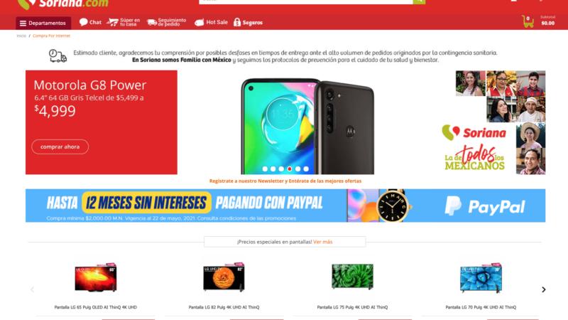 HotSale llega a Soriana.com