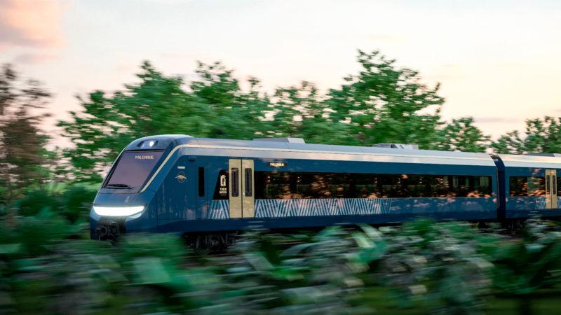 Firman contrato de Tren Maya, será hecho en México